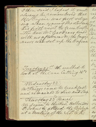 Travel journal of Sir H. W. Martin -Page 121V